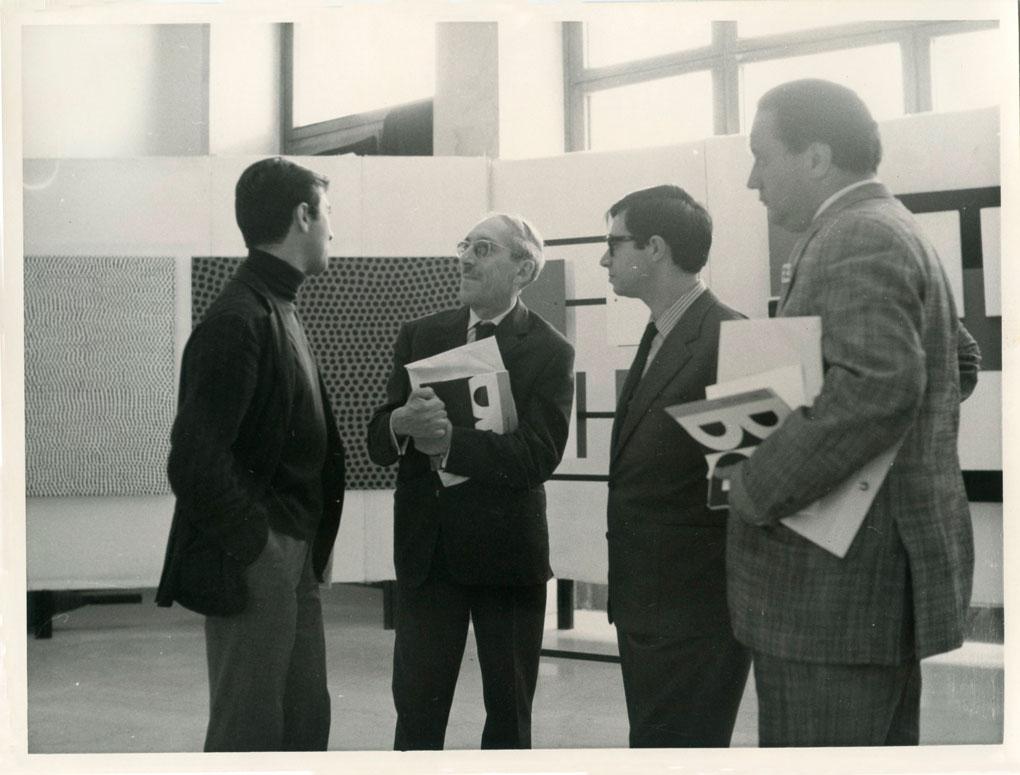 1963 S.Marino mostra Gruppo Uno con Francastel