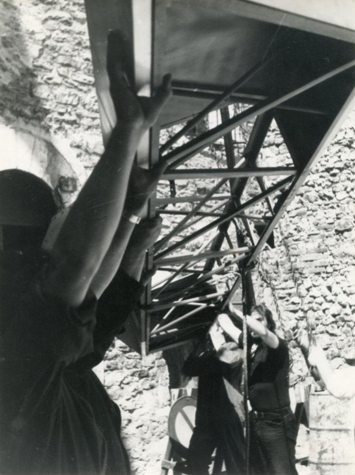 1971 Spoleto montaggio grande Rebis