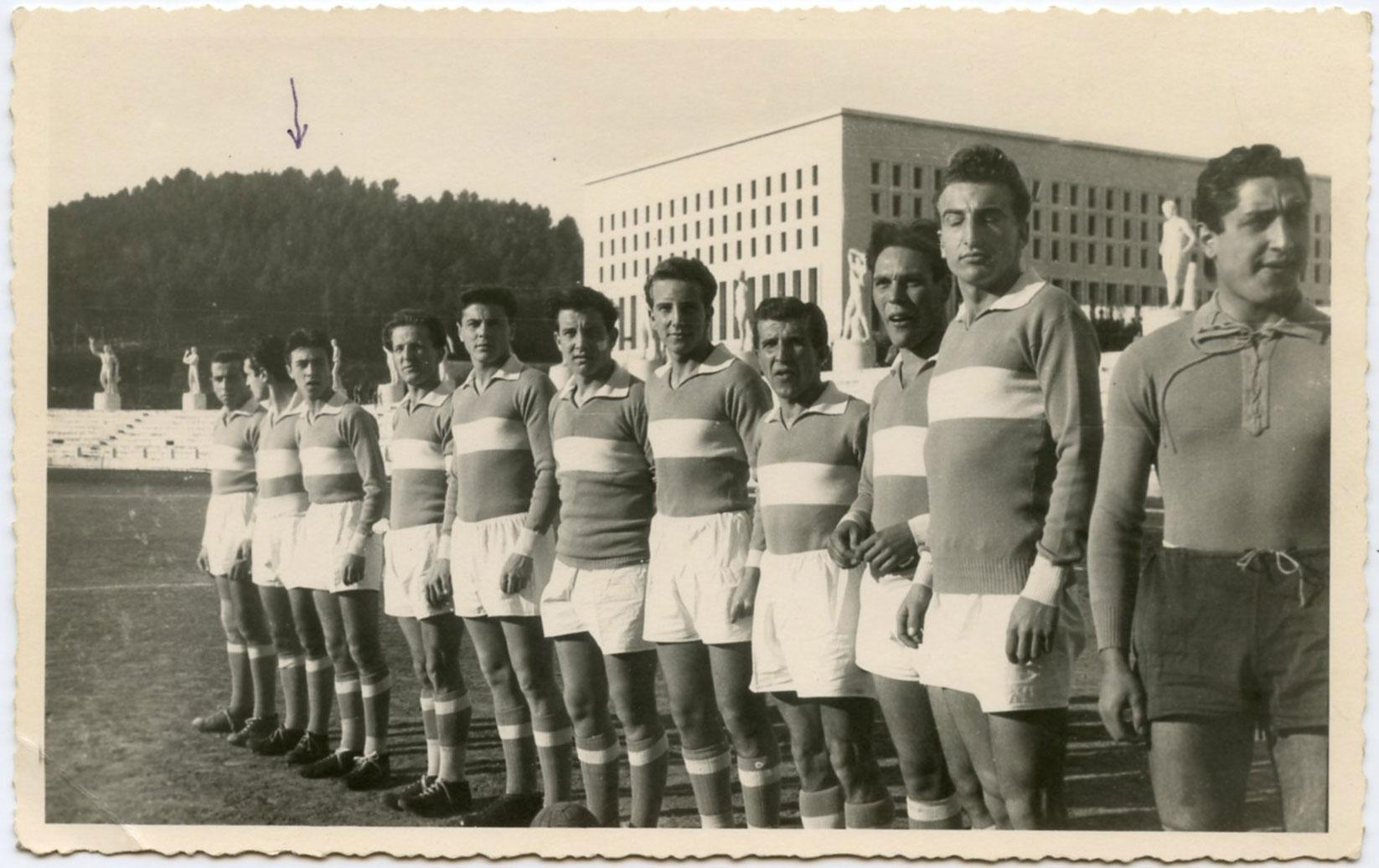 Roma 1948-49 Stadio dei Marmi