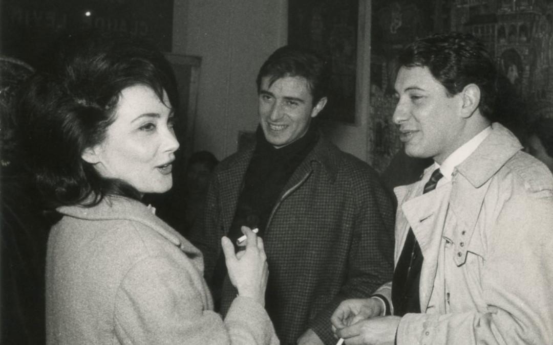 Parigi, 1961 con Ninì Santoro