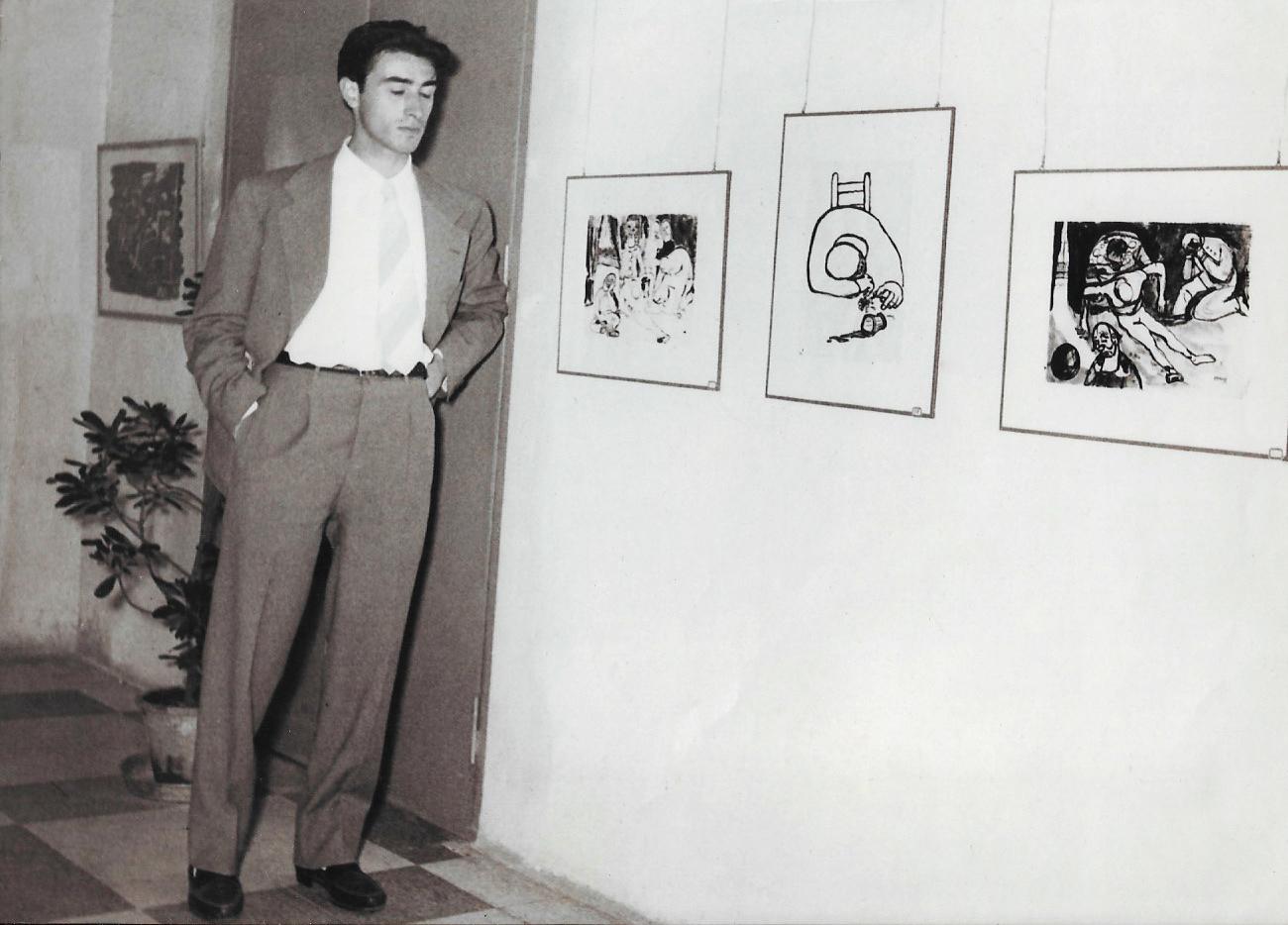 Nato Frascà mostra Fatto cronaca 1955